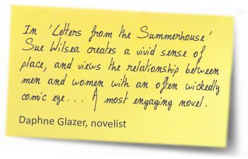 quote from Daphne Glazer, novelist